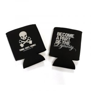 Dynosty Koozie front and back