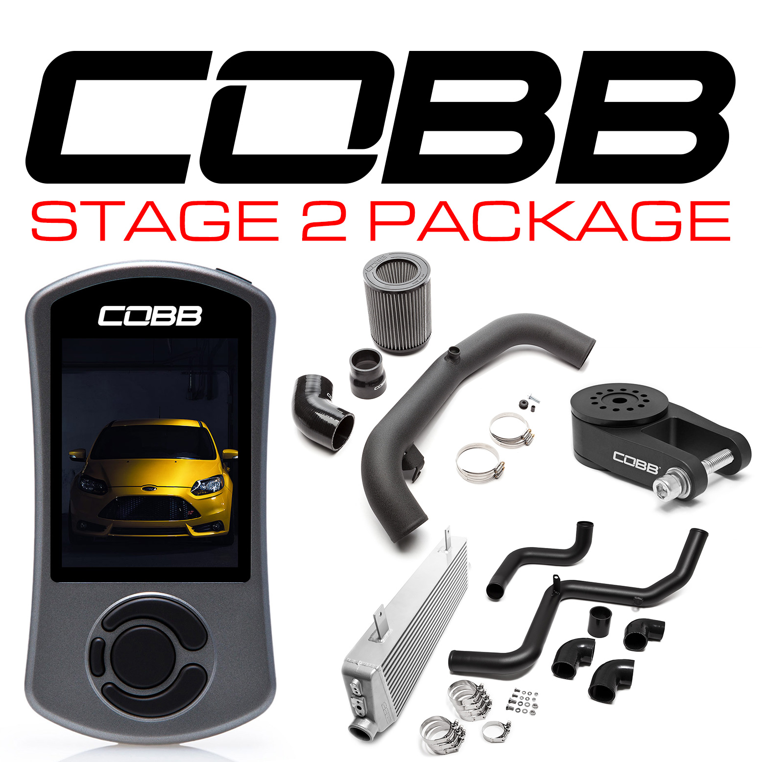 COBB Tuning FORD STAGE 2 POWER PACKAGE FOCUS ST 2013-2016