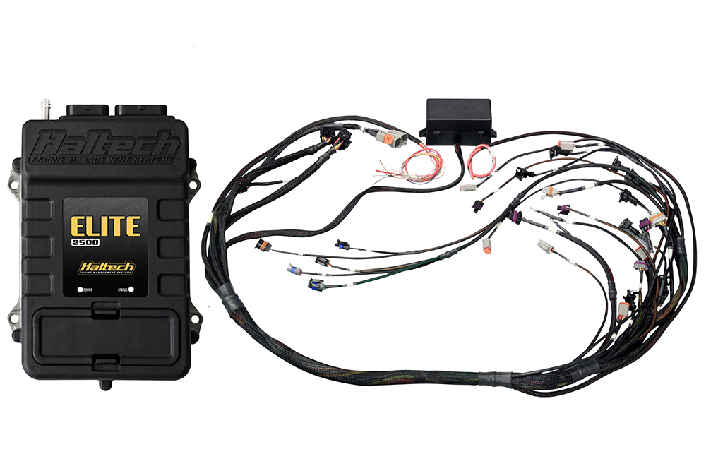 Haltech Elite 2500 + LSx Terminated Harness Kit on